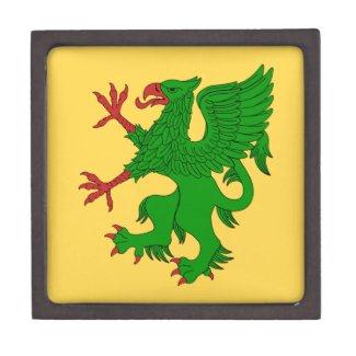 Griffin Rampant Vert Keepsake Box