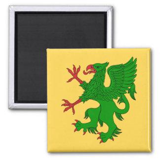 Griffin Rampant Vert Magnet