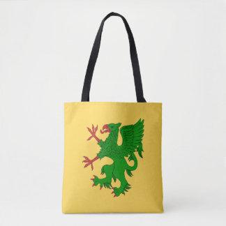 Griffin Rampant Vert Tote Bag