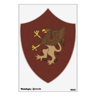 Griffin Rampant Wall Decal