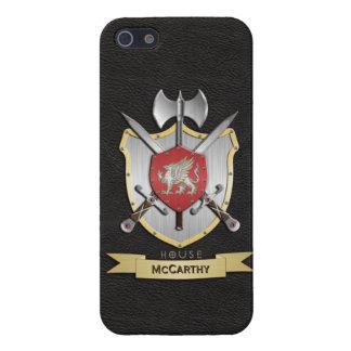 Griffin Sigil Battle Crest Black Case For iPhone SE/5/5s