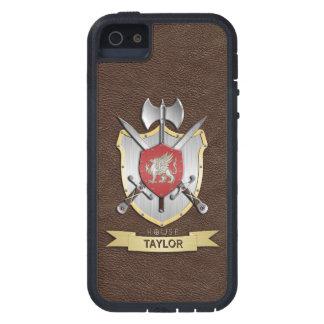 Griffin Sigil Battle Crest Brown iPhone SE/5/5s Case