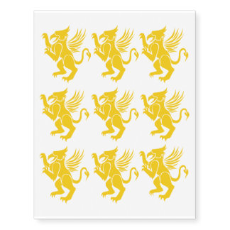 Griffin Temporary Tattoos