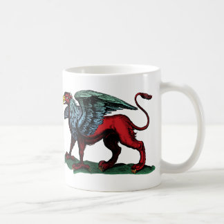 Griffin Vintage Illustration Coffee Mug