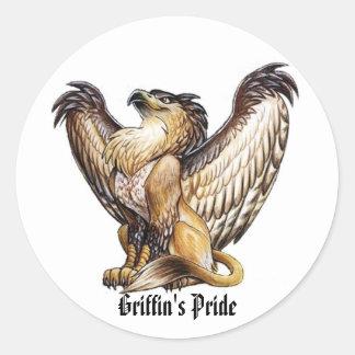 Griffin's Pride - Sticker
