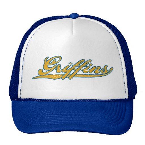 griffins retro baseball style hat zazzle