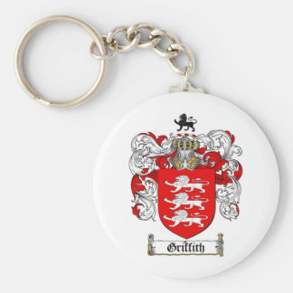 GRIFFITH FAMILY CREST -  GRIFFITH COAT OF ARMS KEYCHAIN