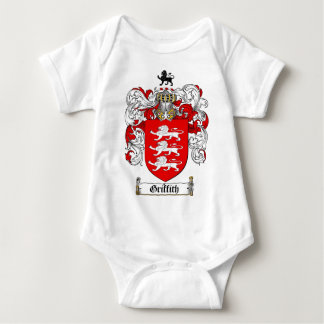 GRIFFITH FAMILY CREST -  GRIFFITH COAT OF ARMS TEE SHIRT