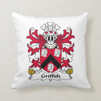 Griffith Family Crest Pillow