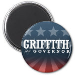 GRIFFITH FOR GOVERNOR 2014 FRIDGE MAGNET