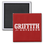 GRIFFITH FOR GOVERNOR 2014 REFRIGERATOR MAGNETS