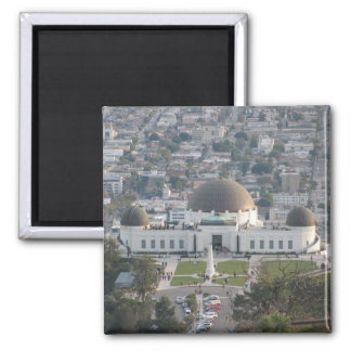 Griffith Observatory 2 Inch Square Magnet