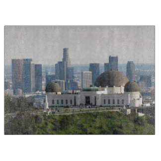 Griffith Observatory and Downtown Los Angeles Cutting Board