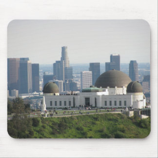 Griffith Observatory and Downtown Los Angeles Mouse Pad