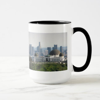Griffith Observatory and Downtown Los Angeles Mug