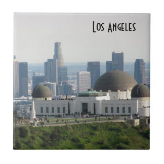 Griffith Observatory and Downtown Los Angeles Tile