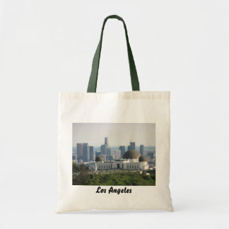 Griffith Observatory and Downtown Los Angeles Tote Bag