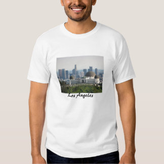 Griffith Observatory and Downtown Los Angeles Tshirts