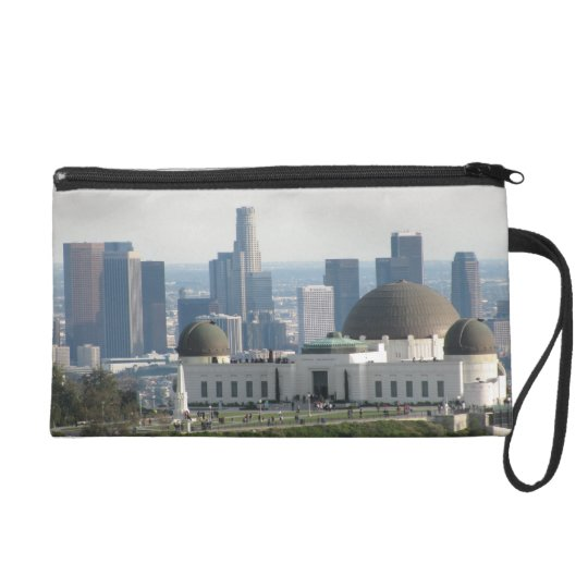 Griffith Observatory and Downtown Los Angeles Wristlet