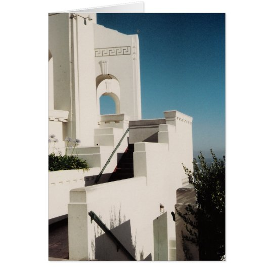 Griffith Observatory Card