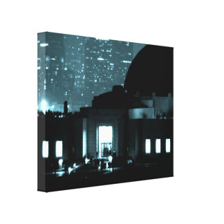 Griffith Observatory Entrance Canvas Print