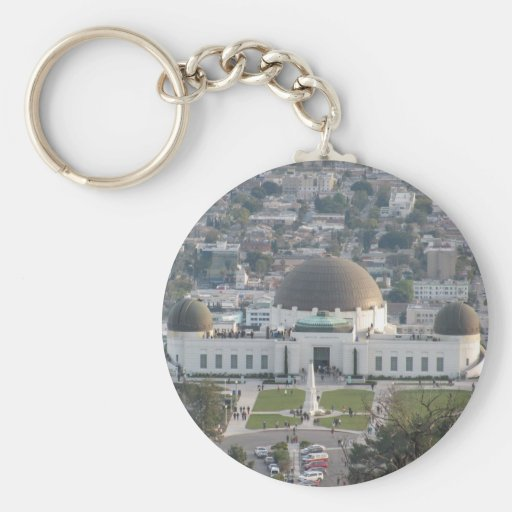 Griffith Observatory Key Chain