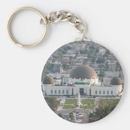 Griffith Observatory Keychain