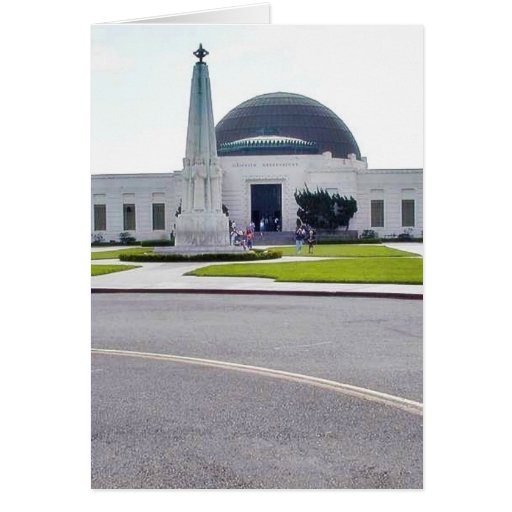 Griffith Observatory Observatories Cards