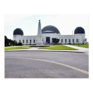 Griffith Observatory Observatories Postcard