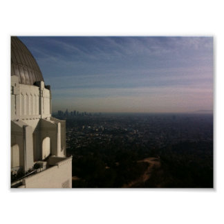 Griffith Park Observatory 3 Poster