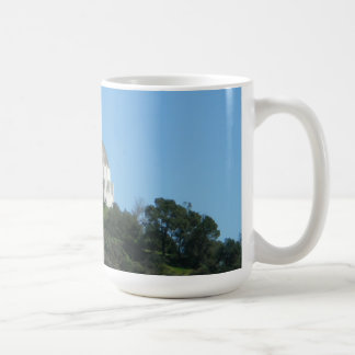 Griffith Park Observatory Los Angeles Classic White Coffee Mug