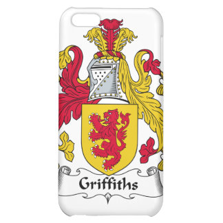 Griffiths Family Crest iPhone 5C Cases