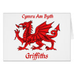 Griffiths Welsh Dragon Card
