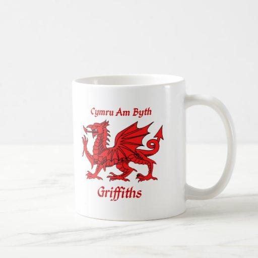 Griffiths Welsh Dragon Coffee Mug