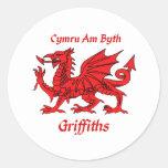Griffiths Welsh Dragon Sticker