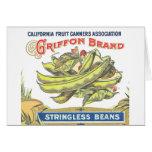 Griffon Brand Beans - Vintage Label