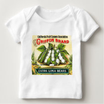 Griffon Brand - Vintage Crate Label Baby T-Shirt