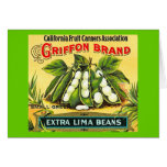 Griffon Brand - Vintage Crate Label Card