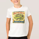 Griffon Brand Vintage Crate Label Stringless Beans T-Shirt