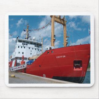 Griffon Coast guard ship Mouse Pad