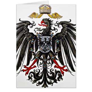 Griffon Coat of Arms Card