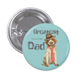 Griffon Dad 1 Inch Round Button