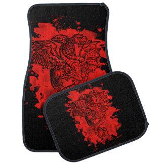 Griffon & Dragon bleached talk Car Floor Mat