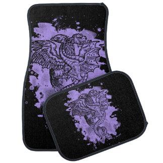 Griffon & Dragon bleached violet Car Mat