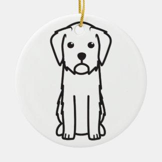 Griffon Fauve de Bretagne Dog Cartoon Ceramic Ornament