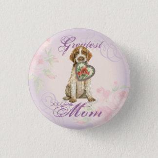 Griffon Heart Mom Button