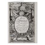 Griffon' of Rene Robert Cavelier de la Salle Greeting Card