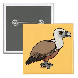 Griffon Vulture Button