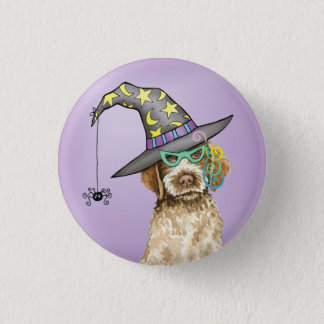 Griffon Witch Pinback Button