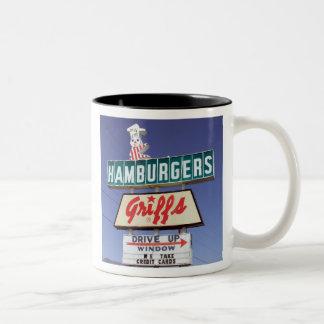 Griff's HAMBURGERS - Mug